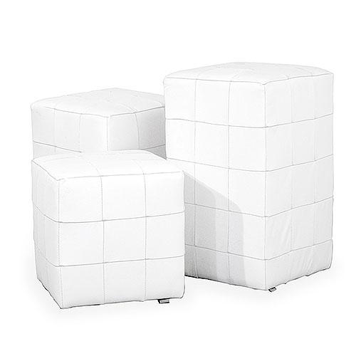 White Cube stools