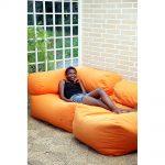 Orange Daydream beanbag