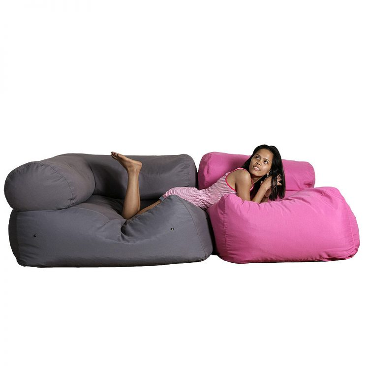 Daydream beanbag with a woman