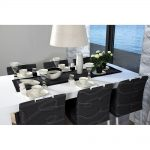 Jazz dining table and stave Jazz chairs
