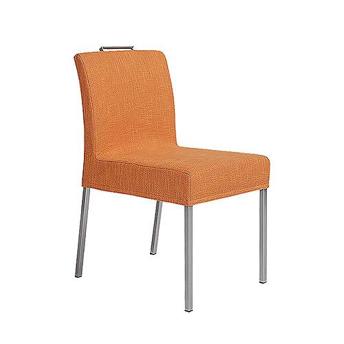 Jazz chair orange Olki fabric