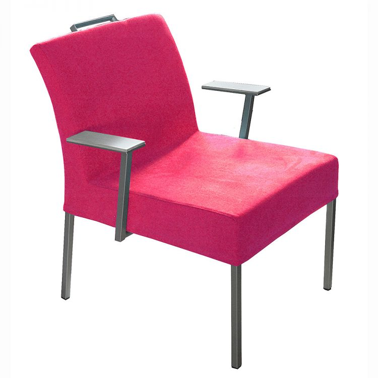 Jazz small recliner pink