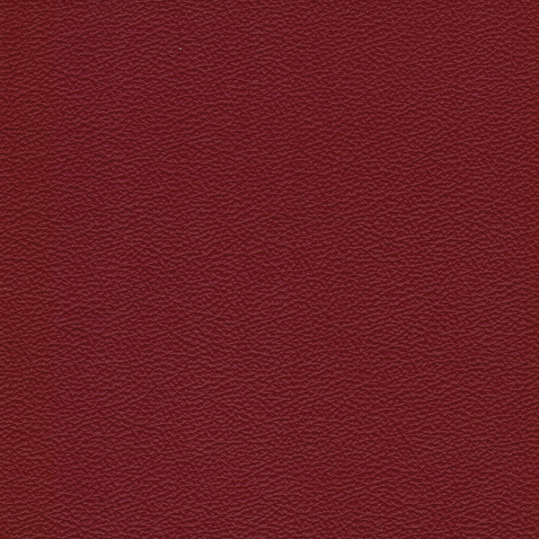 Burgundy colored leather