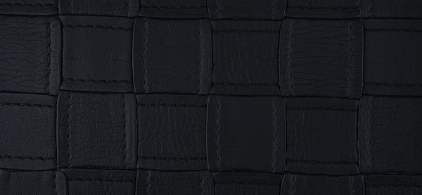 Black imitation leather